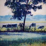 Veenkoloniaal landschap (detail)
