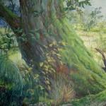 Prehistorisch landschap (detail)
