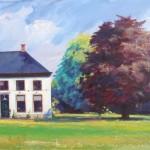 Heiligerlee, acrylverf, 140 x 85 cm, 2008