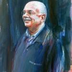 Man, acrylverf, 50 x 60 cm, 2001