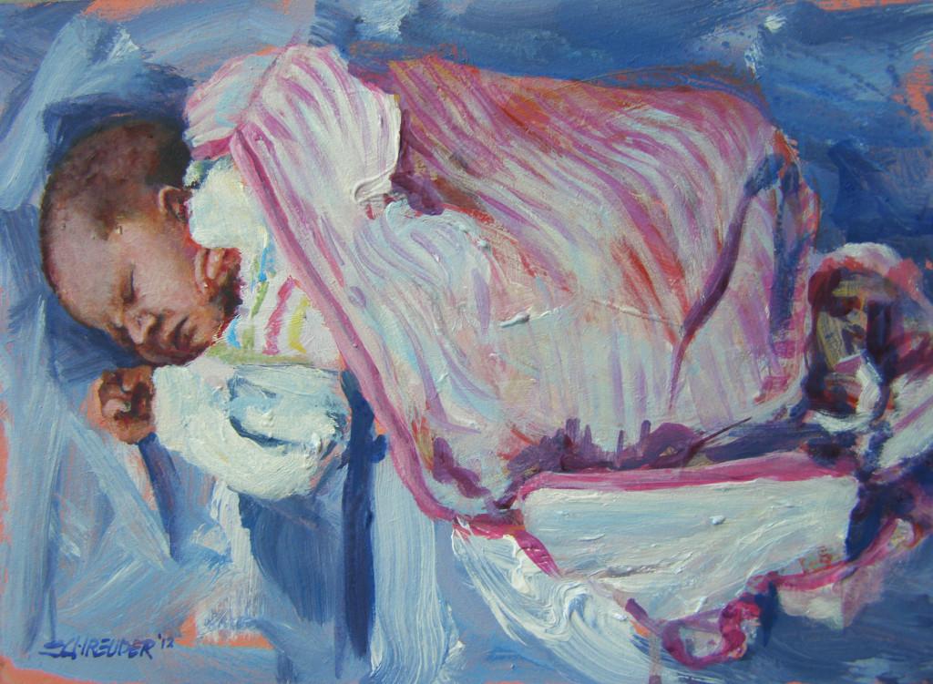 A., acryl, 2012, 20 x 30 cm