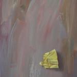 Post-it, olieverf 25 x 45 cm 2012