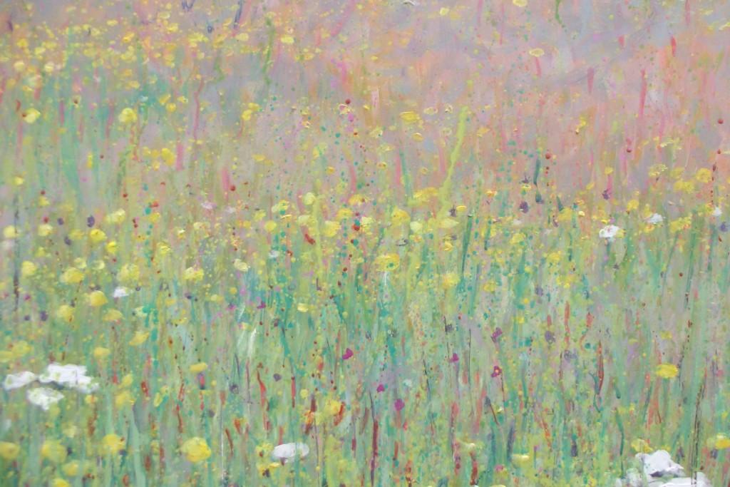 bloeiend grasland