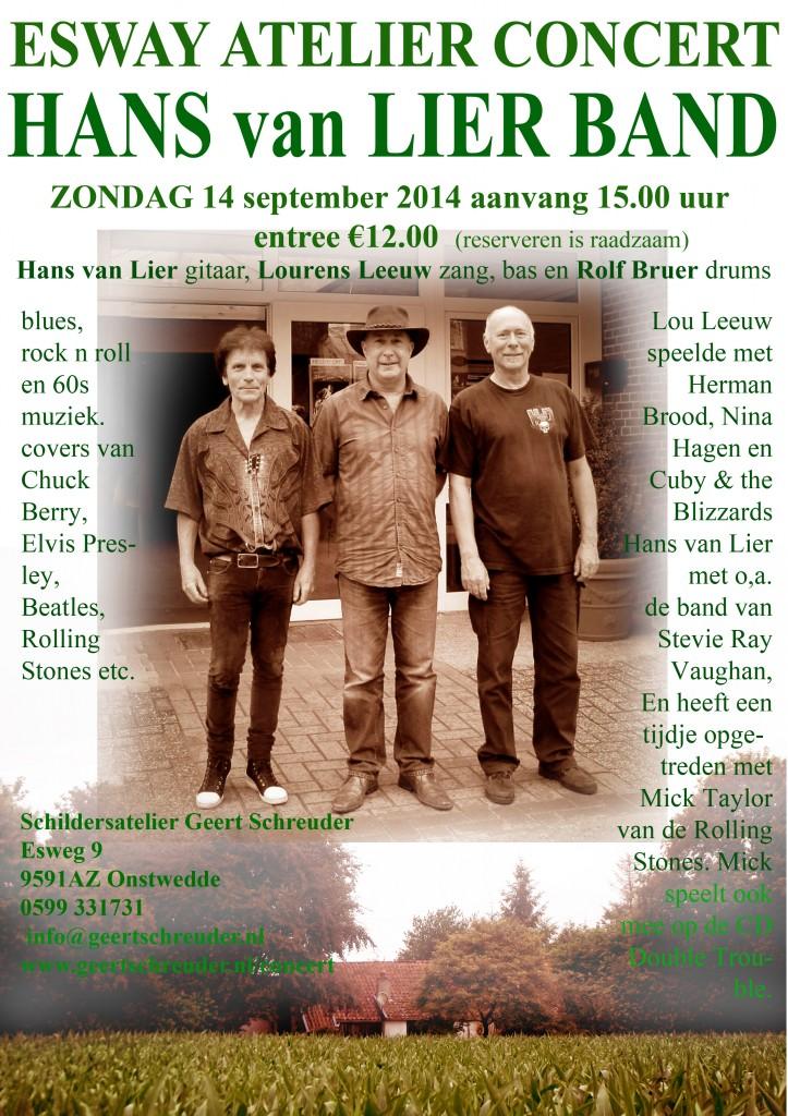 Concert Hans van Lier Band