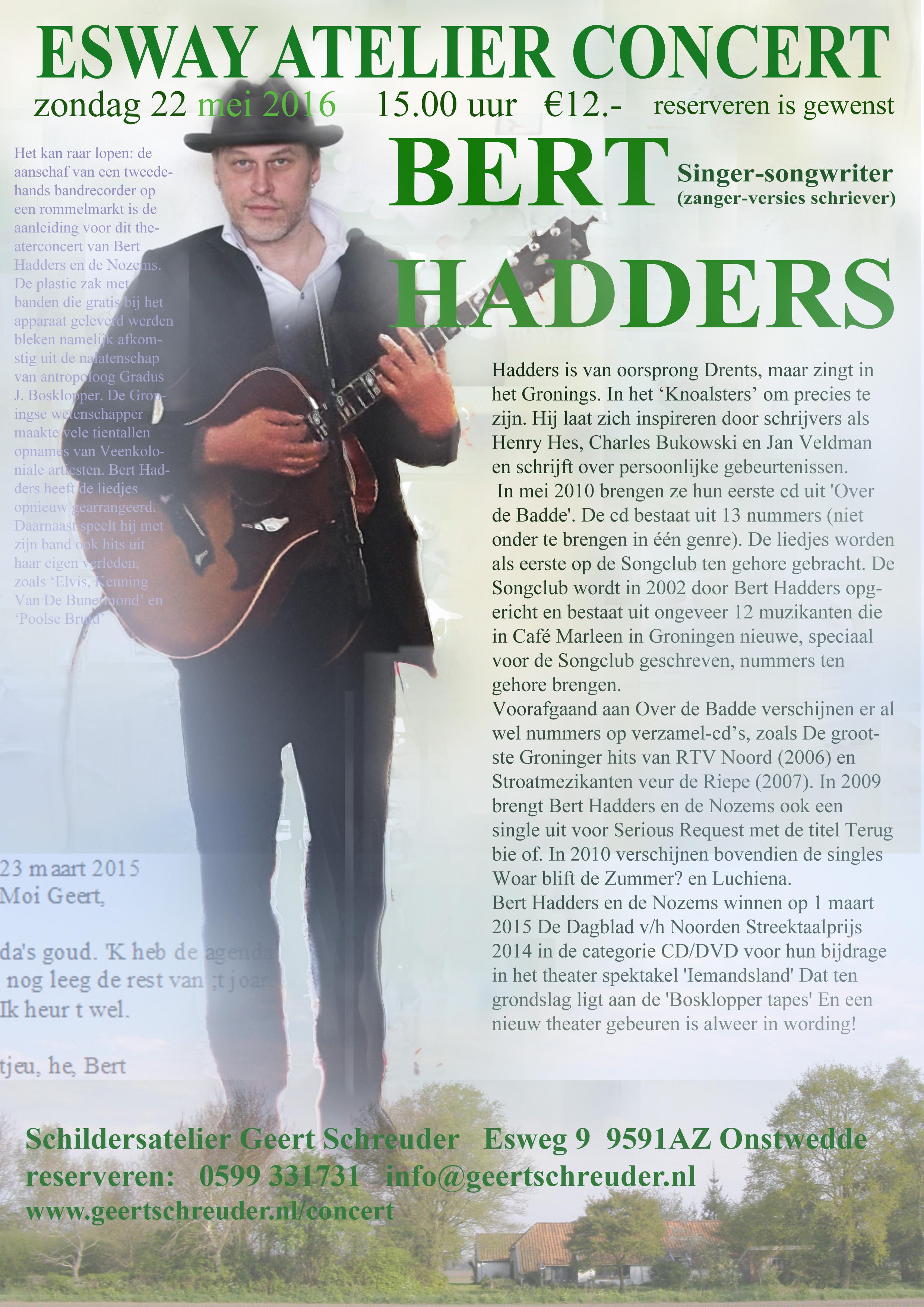 bert Hadders